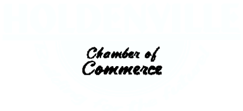 Holdenville Chamber of Commerce logo.