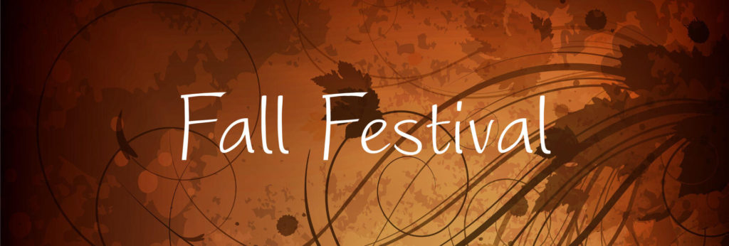 "Holdenville Fall Festival graphic that says ""Fall Festival"" on it in front of vector leaves."